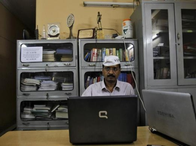 Arvind Kejriwal.
