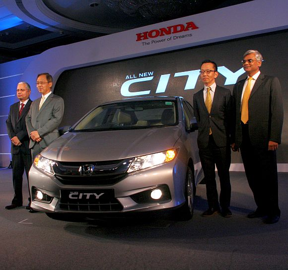 Honda drives in new City; can it take on rivals ?