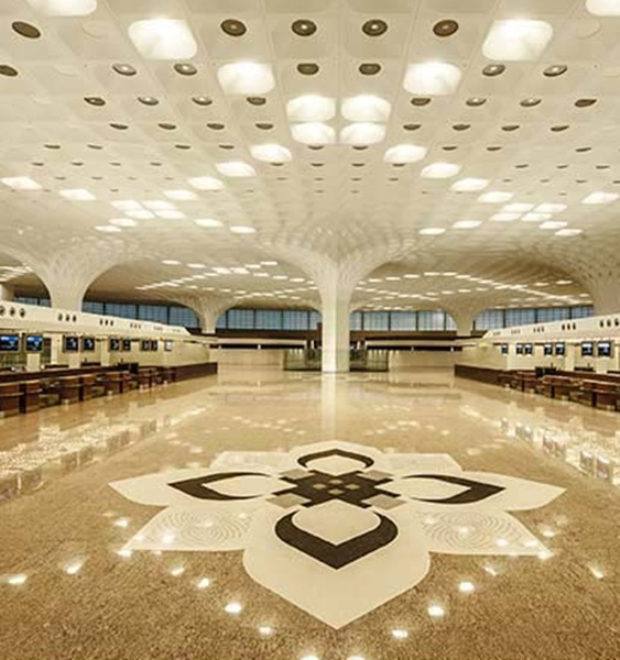 Mumbai airport's integrated terminal, T2.