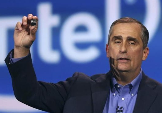 Intel CEO Brian Krzanich introduced Edison at CES 2014.
