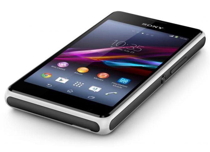 Sony unveils music-centric budget smartphone Xperia E1