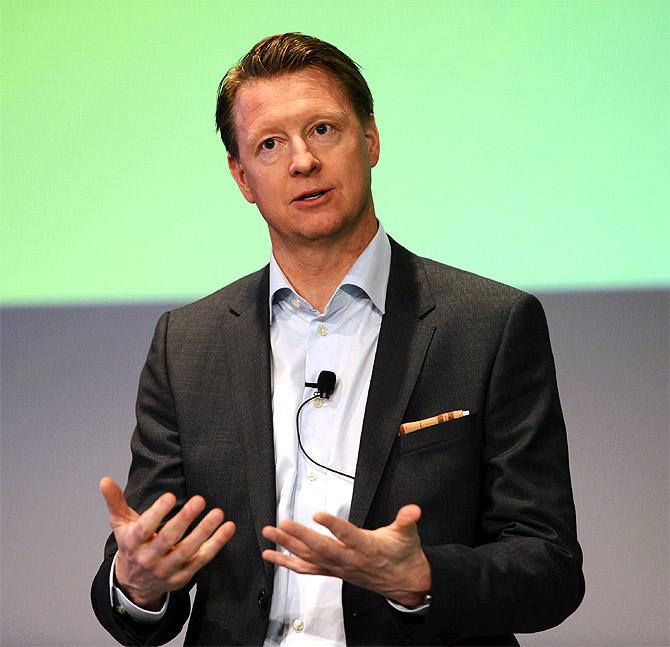 Ericsson CEO Hans Vestberg.