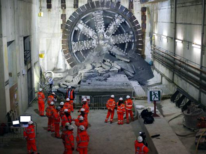 The making of Crossrail, Europe's largest infrastructure project