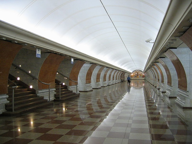 Moscow Metro, Park Pobedy station