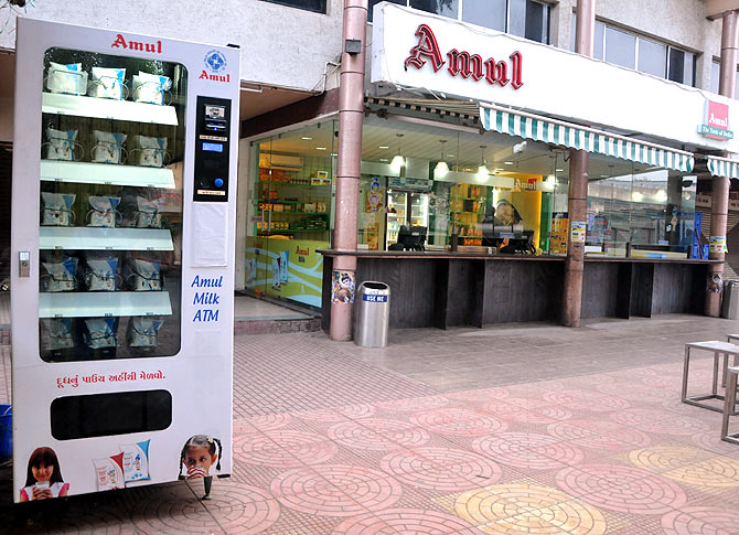 Amul launches India's first milk ATM