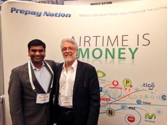 Anurag Jain (left).