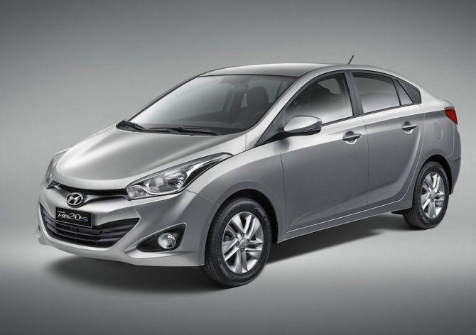 Hyundai HB20S.
