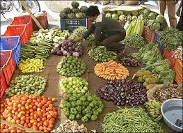 A vegetable vendor