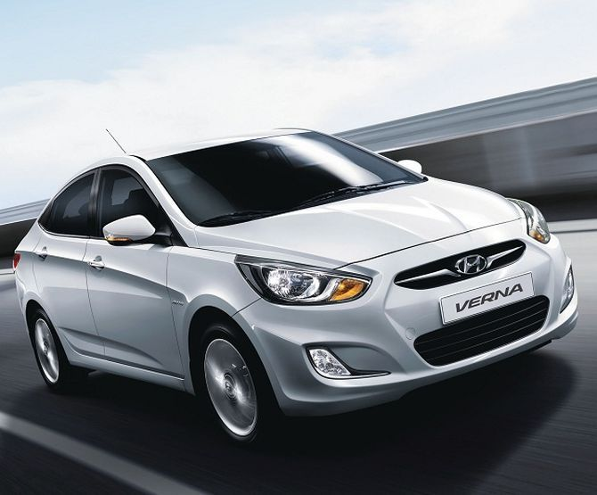 The Verna was a trendsetter, but it is now ageing. Hyundai has improved the ride quality, which is a brilliant move, but a spruce-up job is required, especially for the interiors.  This radical diesel sedan is the fastest in the segment, but the big H's reputation and the legend of the City will give the Korean sedan a tough run for its money.