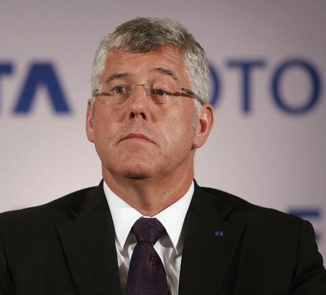 Karl Slym, managing director, Tata Motors