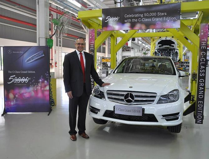 Mercedes launches C-class Grand Edition at Rs 36.81 lakh