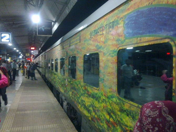 Railways' gift: 17 Premium, 38 Express trains
