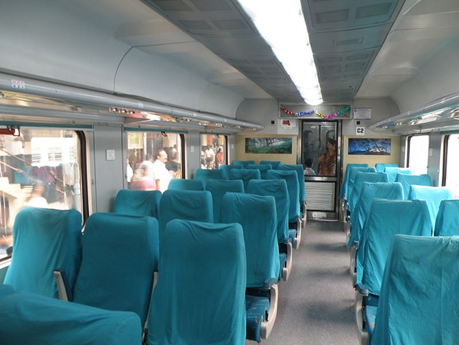 Good food, new menu in Rajdhani, Shatabdi trains soon