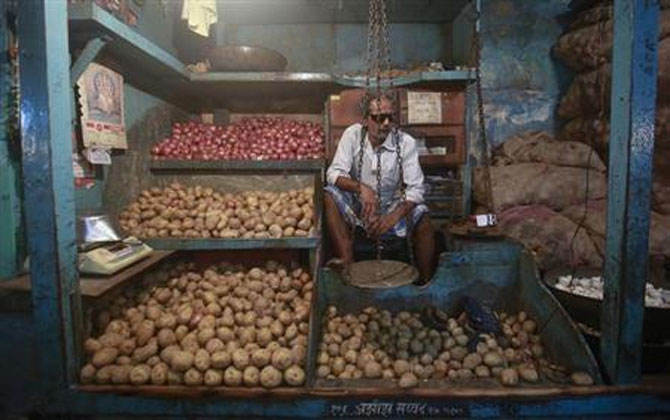 Soaring prices of basic goods such as milk and potatoes lifted retail food inflation in May to 9.40 percent.