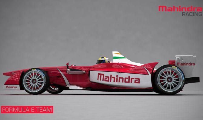 Mahindra to unveil electric sport car Formula E in Feb