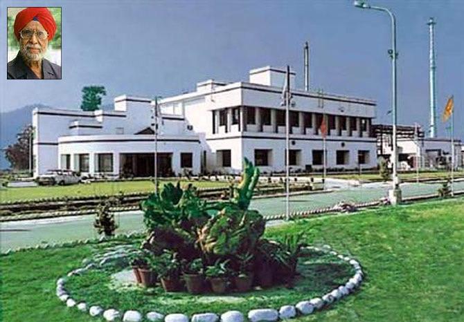 Bhai Mohan Singh (inset)
