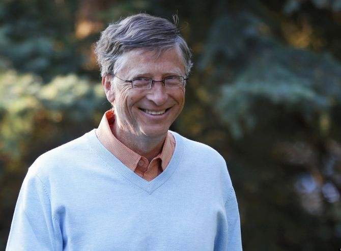 Microsoft chairman Bill Gates.