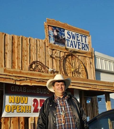 Lance Benson, owner of Swett
