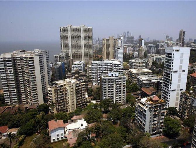 Mumbai's skyline.