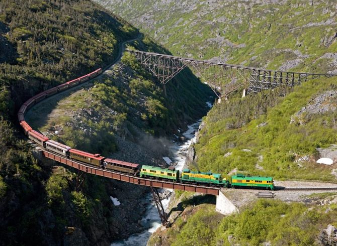The world's scariest train rides