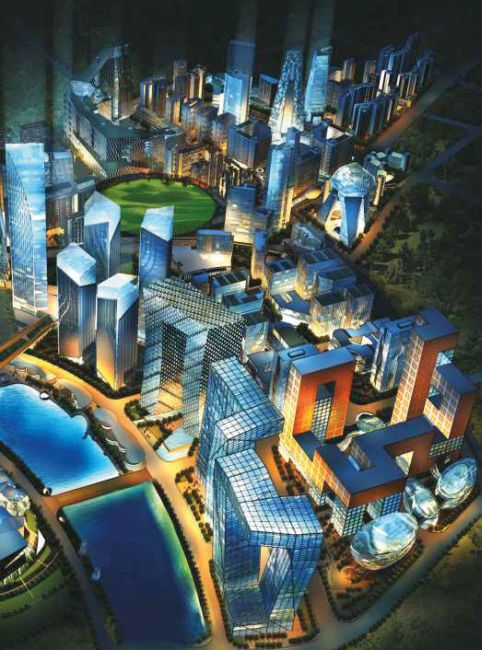 Smart facilties on offer at Gujarat's GIFT city