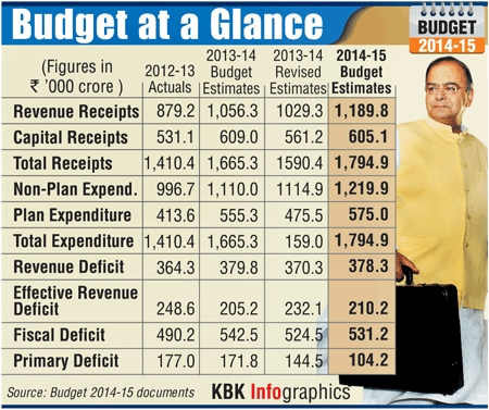 Infographics: Budget at a glance