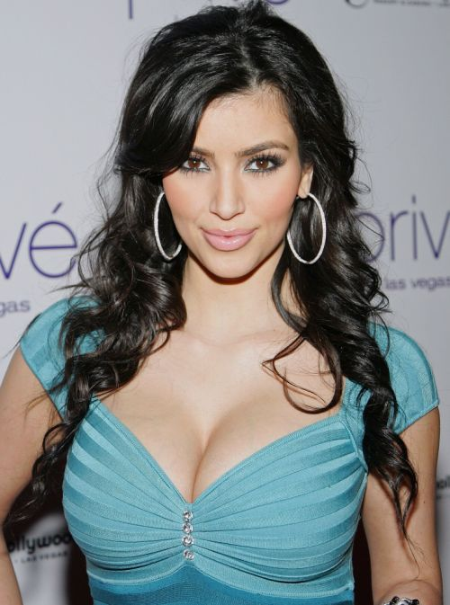 TV personality Kim Kardashian attends an in-store appearance for the Kardashian Kollection at Sears.