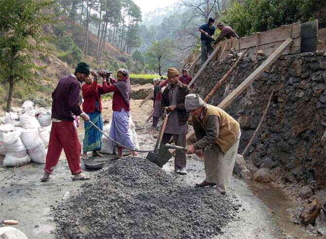 Local labour is employed for construction of all civil works such as channels, power house-shed. Local people also provide semi skilled labour for installation of machines and equipment.
