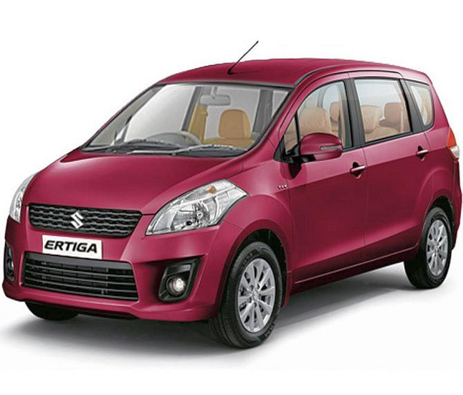 Maruti Suzuki launches limited edition of Ertiga