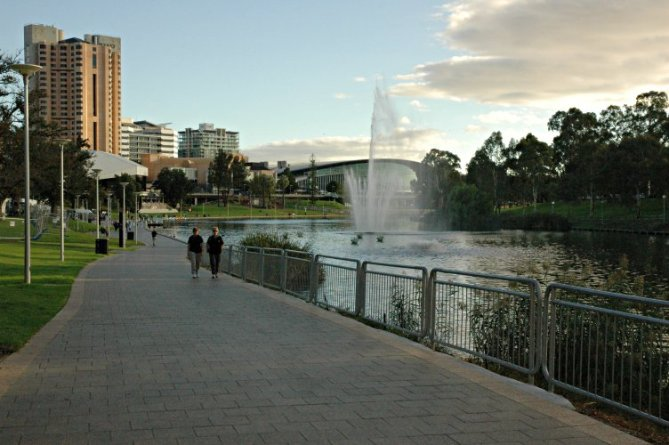 Elder Park in Adelaide.