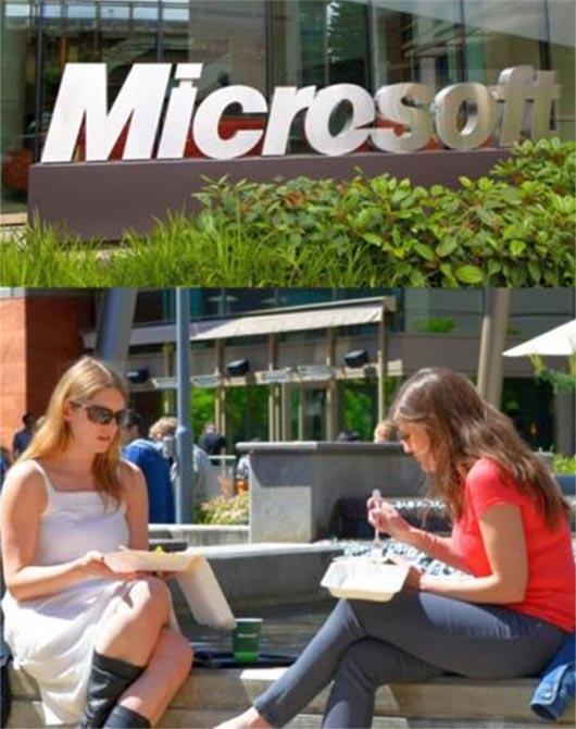 Microsoft Redmond Campus.