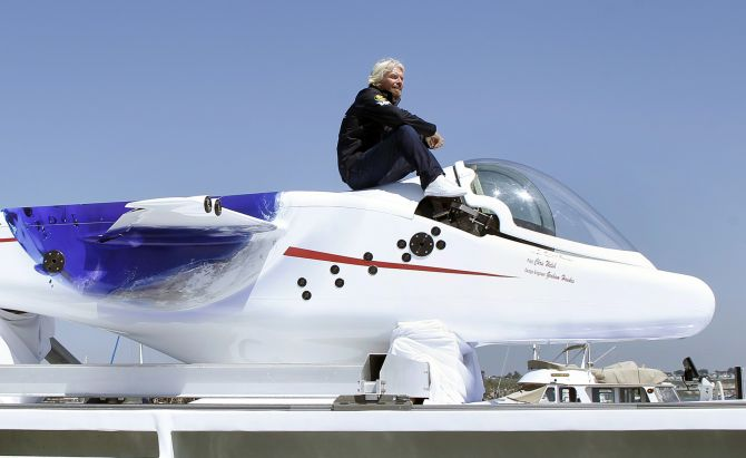 Richard Branson knows how to live life to the fullest