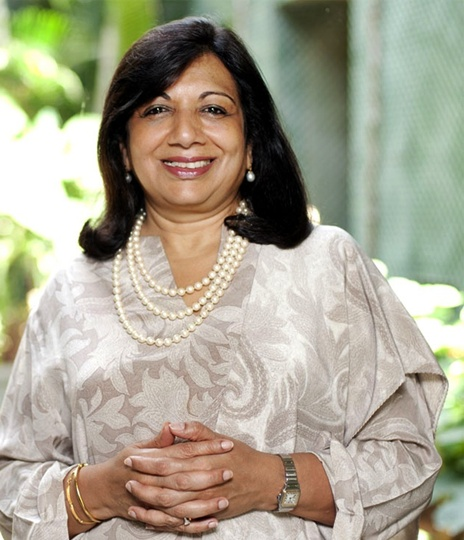 Kiran Mazumdar-Shaw, chairman and managing director of Biocon is in the new dollar billionaire club.