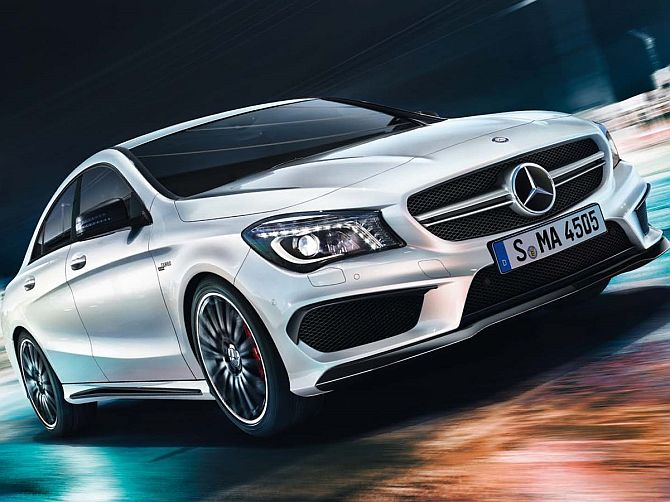 Mercedes CLA 45 AMG: Incredibly fast, stunningly beautiful