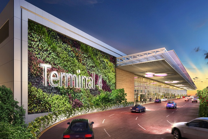 Inside Changi Airport's stunning T4 terminal
