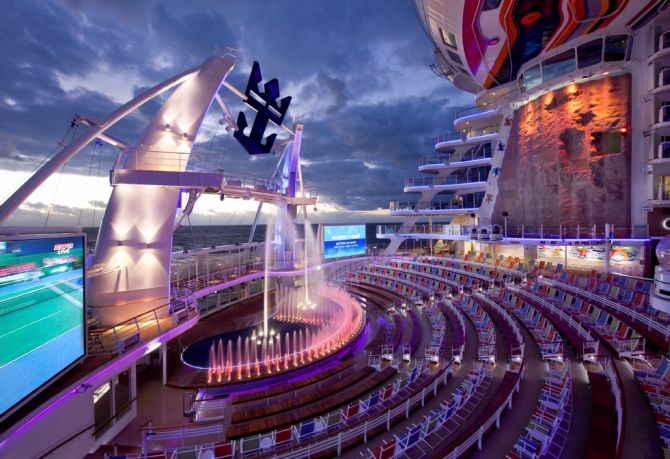 Inside the biggest cruise ship ever constructed