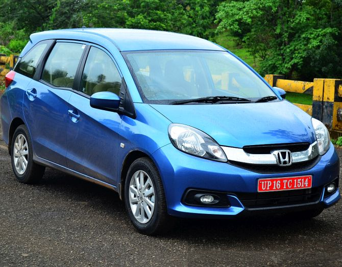 Honda Launches Mobilio Price Starts At Rs 649 Lakh