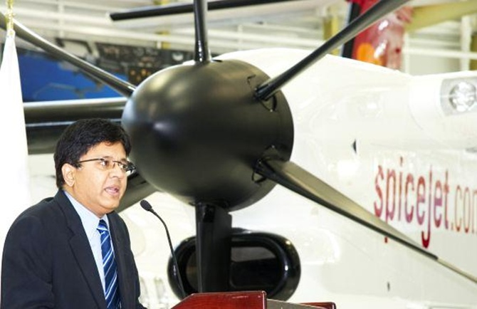 Kalanithi Maran, chairman and MD of Sun Group, and promoter of SpiceJet.