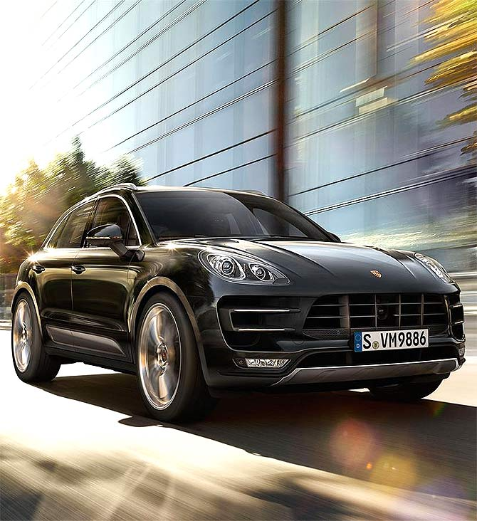 The Macan Turbo.
