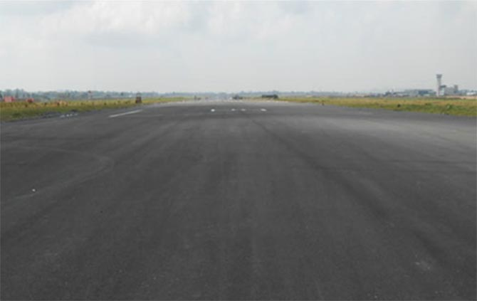 The Bengal Aerotropolis runway