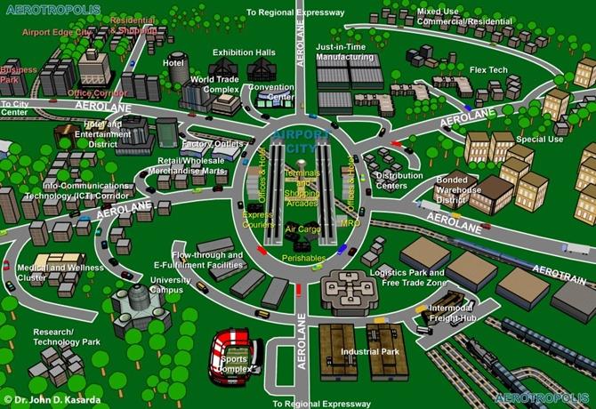 Bengal Aerotropolis plan