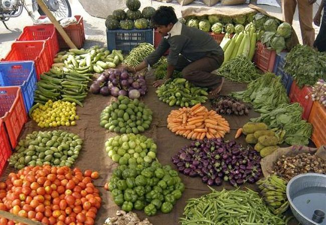 Vegetable prices have moderated since few days.