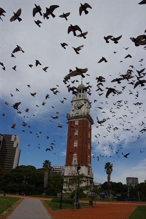 Torre Monumental, clock tower located in the barrio (district) of Retiro.