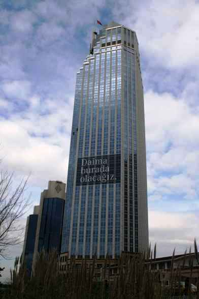 Isbank Tower.