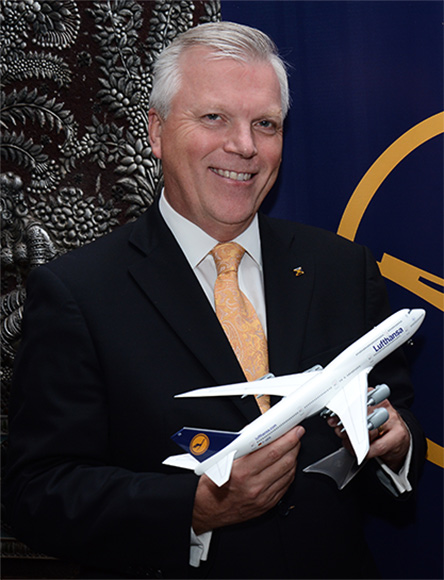 The airline will continue to fly the Boeing 747-400 aircraft on the Frankfurt-Mumbai route.