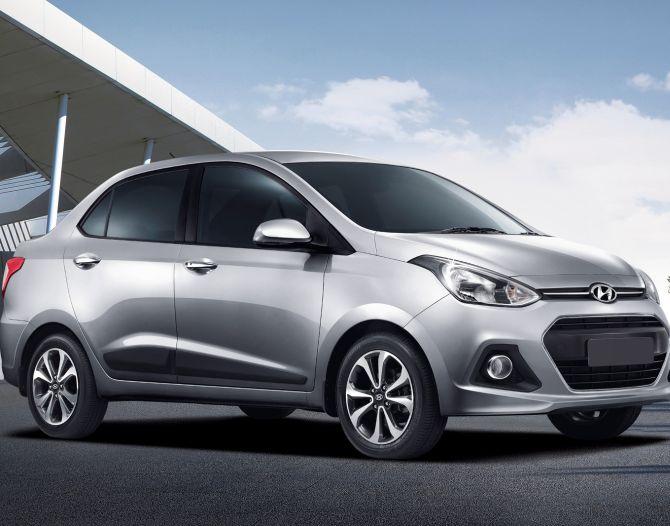 Hyundai's new Xcent.