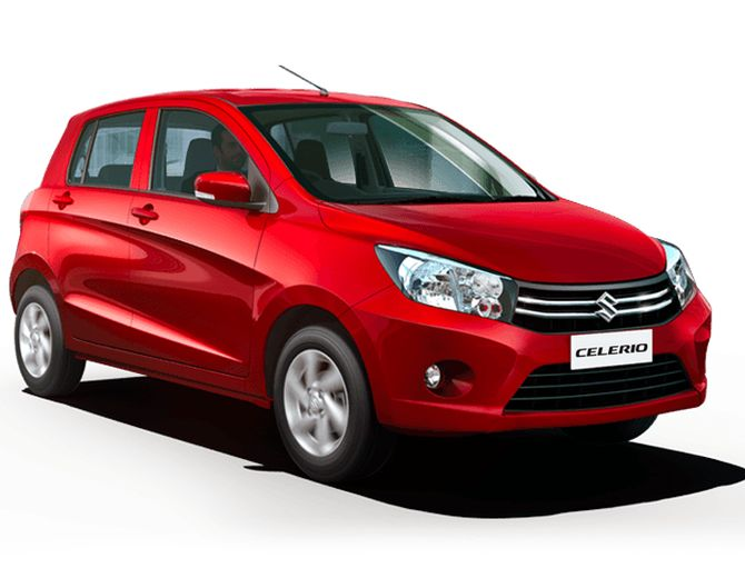 Maruti Celerio sold in India.