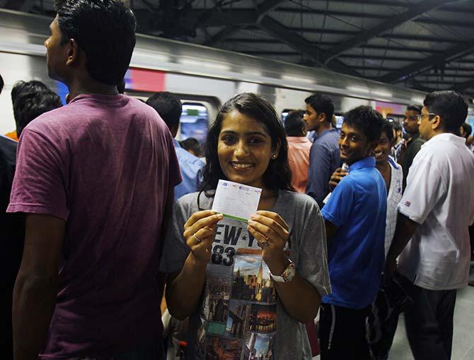 Mumbai's pride: A swanky Metro rail service