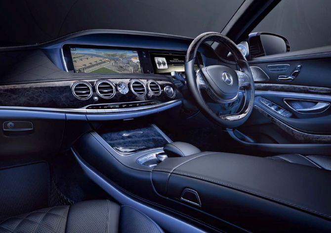 Mercedes Benz S350 CDI.