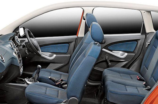 Ford Figo interior.